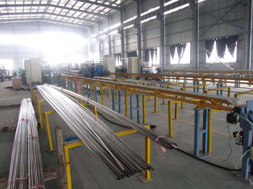 A269 304 304l welded stainless steel tube