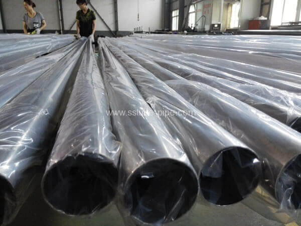 polishing stainless steel welded pipe